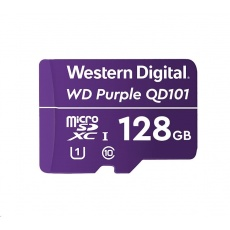 WD MicroSDXC karta 128GB WDD128G1P0C Class 10 (R:100/W:60 MB/s)