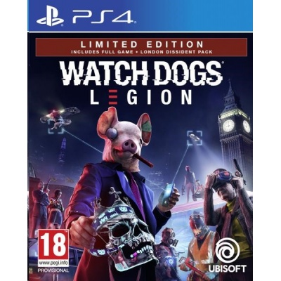 PS4 hra Watch_Dogs Legion Limited Edition