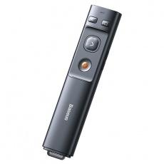 Baseus Orange dot laserové bezdrátové ukazovátko, šedá