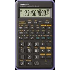 SHARP kalkulačka - EL-501T - fialová (balení box)