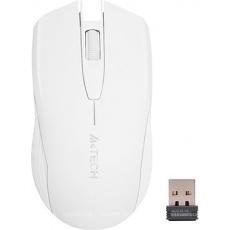 A4tech  G3-760N V-track, bezdrátová optická myš, 2.4GHz, 10m dosah, USB, bílá