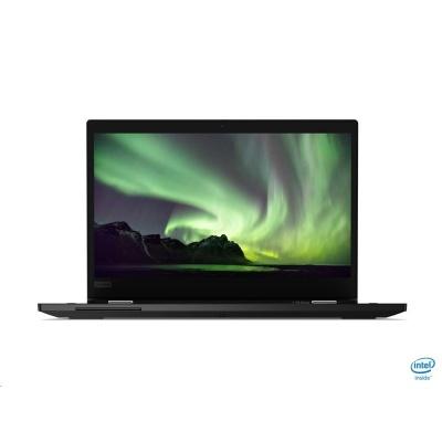 "LENOVO ThinkPad L13 i Yoga - i3-10110U@2.1GHz,13.3"" FHD IPS Touch,8GB,256SSD,HDMI,HDcam+IR,IntelHD,W10P,1r carryin,černá"