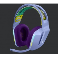 Logitech herní sluchátka G733, LIGHTSPEED Wireless RGB Gaming Headset, EMEA, lilac