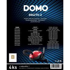 Domo DO42TS-2 Sada text. sáčků do vysavače 3-4l, 4ks