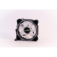 1stCOOL ventilátor AURA RAINBOW ARGB HEXAGON 2, 12 cm