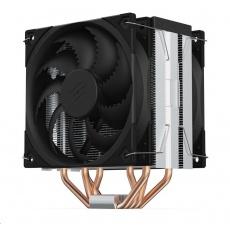 SilentiumPC chladič CPU Fera 5 Dual Fan ultratichý/ 120mm fan/ 4 heatpipes/ PWM/ pro Intel, AMD