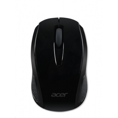 ACER  Wireless Mouse G69 Black - RF2.4G, 1600 dpi, 95x58x35 mm, 10m dosah, 2x AAA, Win/Chrome/Mac, (Retail Pack)