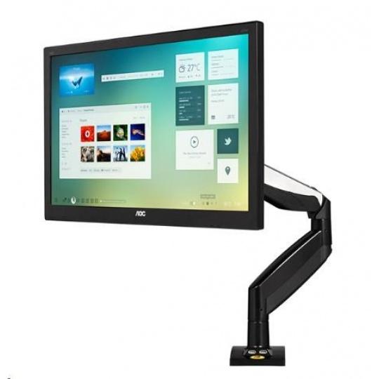 Profesionální kancelářský držák LCD monitoru Fiber Mounts F85A