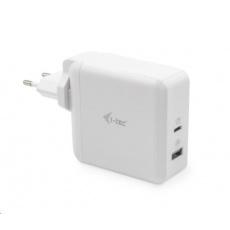 iTec USB-C Travel Charger 60W + USB-A Port 18W - USB cestovní nabíječka