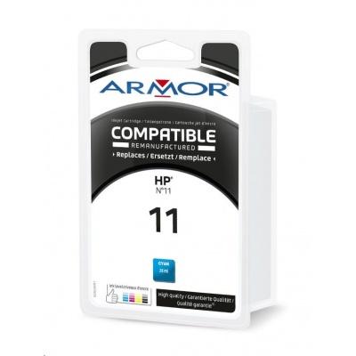 ARMOR cartridge pro HP Officejet 9110/9120/9130 cyan / modrá (C4836A) 28ml, 2350 stran