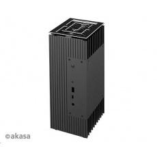 AKASA case Turing A50, fanless case, černá