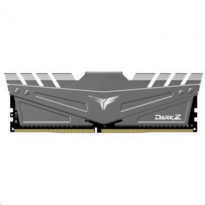 DIMM DDR4 16GB 3200MHz, CL16, (KIT 2x8GB), T-FORCE DARK Z, Gray