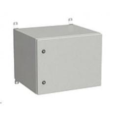 Solarix rozvaděč nástěnný venkovní LC-20 9U 600x500mm, dveře plech, LC-20-9U-65-21-G