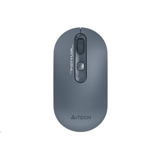 A4tech bezdrátová myš FG20, FSTYLER, modrá