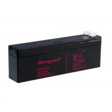 Alarmguard 12V 2,6Ah olověný akumulátor F1 (CJ12-2.6)