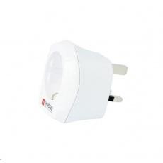 SKROSS cestovní adaptér pro použití v UK, bílý