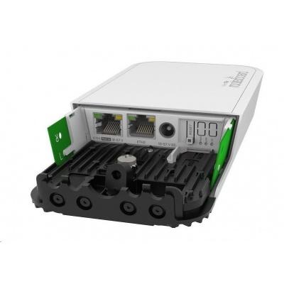 MikroTik RouterBOARD RBwAPGR-5HacD2HnD&R11e-LTE6 wAP, 716MHz, 128MB RAM, 2xGLAN, 2,4Ghz+5GHz, LTE, 1xMiniPCIe, 1xSIM, L4