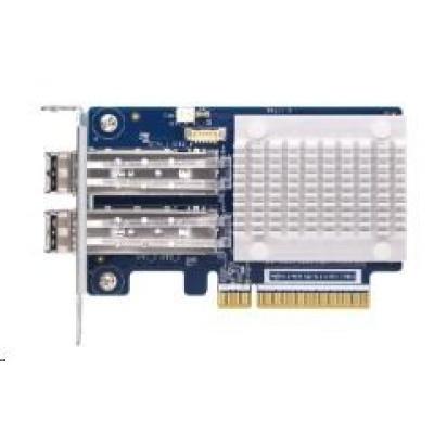QNAP QXP-32G2FC Dvouportová 32Gb rozšiřující karta Fibre Channel Gen 6 s transceivery SFP+