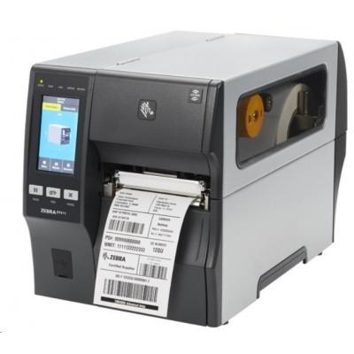 """Zebra ZT411,průmyslová 4"""" tiskárna,(300 dpi),disp. (colour),RTC,RFID,EPL,ZPL,ZPLII,USB,RS232,BT,Ethernet"""