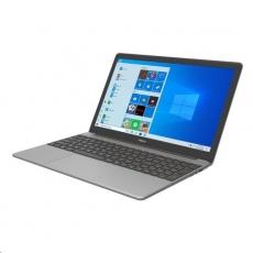 "UMAX NB VisionBook 15Wr Plus - 15,6"" IPS FHD 1920x1080, Celeron N4120@1,1 GHz, 4GB,128GB, Intel UHD,W10P, šedá"