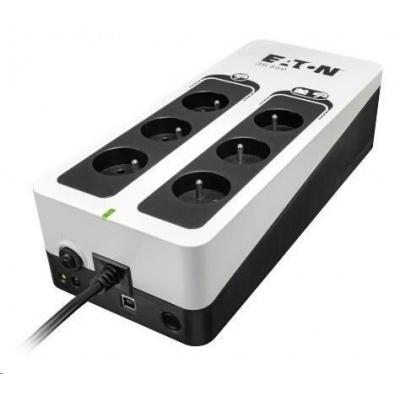 Eaton 3S 550 FR, UPS 550VA / 330W, 6 zásuvek (3 zálohované), USB, české zásuvky