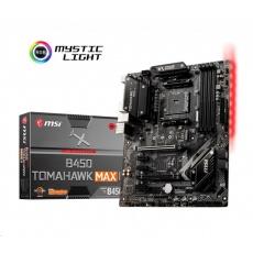 MSI MB Sc AM4 B450 TOMAHAWK MAX II, AMD B450, 4xDDR4, 1xHDMI, 1xDVI