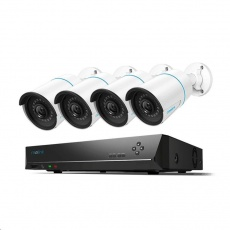 REOLINK bezpečnostní kamerový set s umělou inteligencí RLK8-510B4-A, osmikanálový 5MP