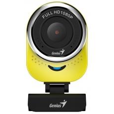GENIUS webkamera QCam 6000/ žlutá/ Full HD 1080P/ USB2.0/ mikrofon