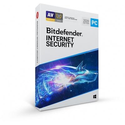 Bitdefender Internet Security - 3PC na 3 roky- elektronická licence do emailu
