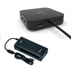 iTec USB-C Dual Display Docking Station s Power Delivery 100W + Universal Charger 112W
