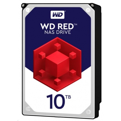 WD RED NAS WD101EFAX 10TB SATAIII/600 256MB cache, 210MB/s