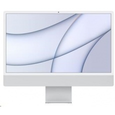 APPLE 24-inch iMac with Retina 4.5K display: M1chip with 8-core CPU and 8-core GPU, 16GB, 1TB - Silver/num.kl