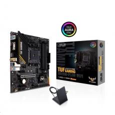 ASUS MB Sc AM4 TUF GAMING A520M-PLUS WIFI, AMD A520, 4xDDR4, 1xDP, 1xHDMI, VGA, WI-FI, mATX