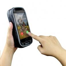 WILD MAN pouzdro pro mobilní telefon na řídítka do 6'' H16, černá