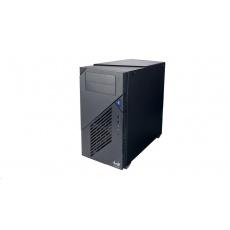 "IN WIN skříň C200, mid tower, 166mm fan, 2x2.5"", 5x5.25"", 1 x USB Type-C, 2x USB 3.0 / HD Audio / Black"