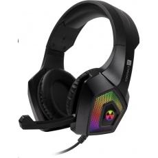 CONNECT IT herní sluchátka BATTLE RGB Ed. 3, s mikrofonem, černá