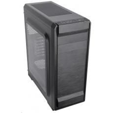 CRONO skříň MT-850i MidiTower bez zdroje, black