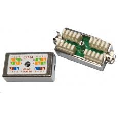 Spojovací zářezový box CAT 6A FTP (kompatibilní i s CAT 5e)