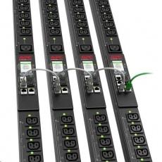 APC Rack PDU 9000 Switched, ZeroU, 32A 230V, (21)C13&(3)C19, IEC 60309 16 A 2P + E 3m