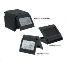 Seiko pokladní tiskárna RP-F10, řezačka, Horní/Přední výstup, USB, černá, zdroj + Display