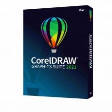 CorelDRAW GS 2021 MAC EN/FR/DE/IT/ES/BP/NL - ESD