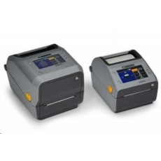 Zebra ZD621d, 12 dots/mm (300 dpi), cutter, linerless, RTC, USB, USB Host, RS232, BT, Ethernet, Wi-Fi, grey