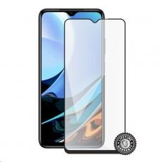 Screenshield ochrana displeje Tempered Glass pro XIAOMI Redmi 9T (full COVER), černá