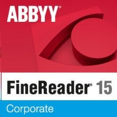 ABBYY FineReader PDF 15 Corporate, Single User License (ESD), UPG, Perpetual
