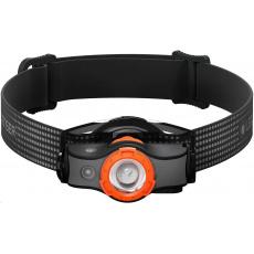 LEDLENSER čelovka MH5 - černo-oranžová - Box