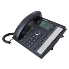 AudioCodes IP telefon 430HD, grafický displej, 10/100/1000 Mbps, PoE, černá, napájecí zdroj