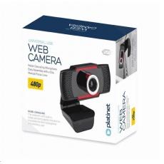 PLATINET web kamera 480P, vestavěný digitální mikrofon, USB