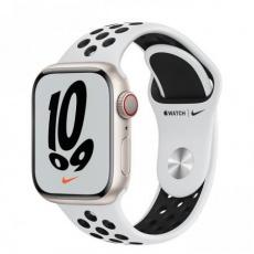 Apple Watch Nike Series 7 Cell, 41mm Star./Plat./Black Nike SportBand