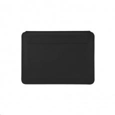 COTEetCI PU tenké pouzdro s magnetickým zapínáním pro Apple Macbook Pro 16 černá