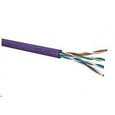 Instalační kabel Solarix UTP, Cat5E, drát, LSOH, box 100m SXKD-5E-UTP-LSOH